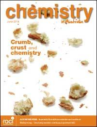 Chemistry in Australia June 2014 issue cover