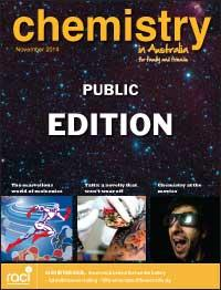 Chemistry in Australia November 2014 cover