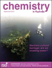 Chemistry in Australia September 2014 issue cover
