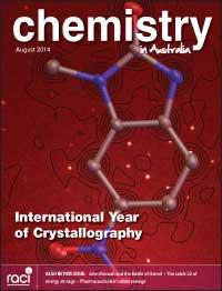 Chemistry in Australia August 2014 issue cover