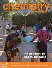 Chemistry in Australia October 2014 issue cover